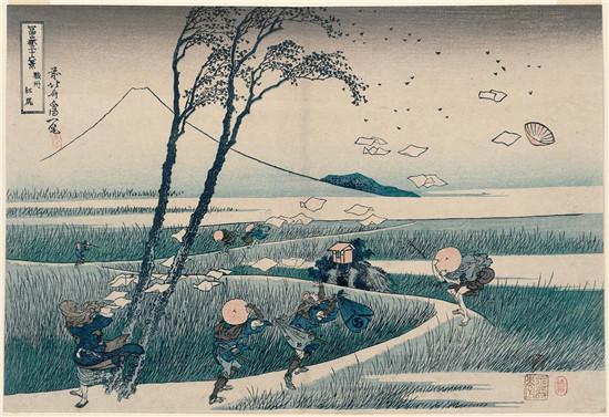 葛饰北斋三十六_葛饰北斋掀起日本艺术巨浪,富岳三十六景120年首次齐现
