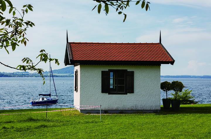 阿特尔湖畔的马勒作曲小屋