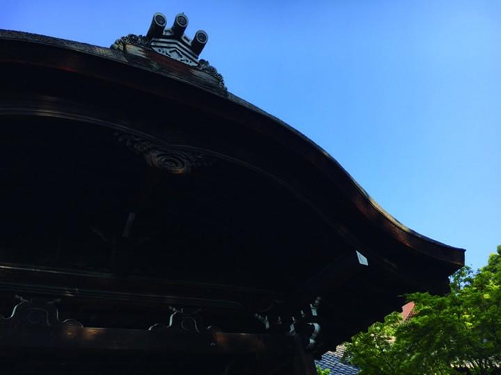 位于京都东山灵山之麓的名刹高台寺门迹