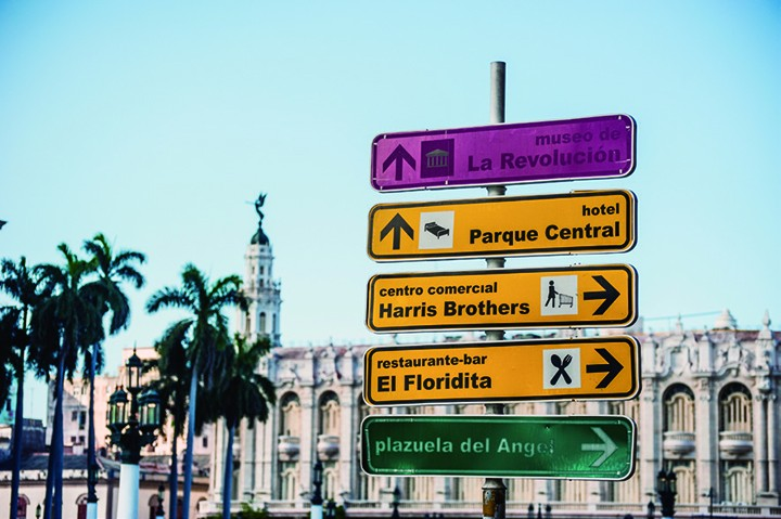 哈瓦那老城区集中了古巴最多的著名历史景点