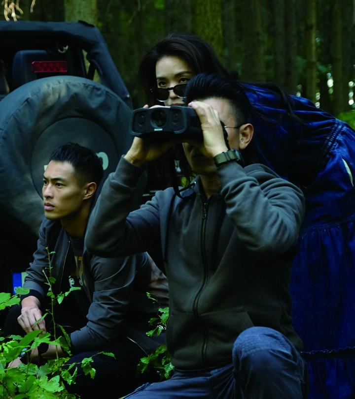 """刘德华、舒淇和杨祐宁在《侠盗联盟》中的""""潮盗""""三人组"""