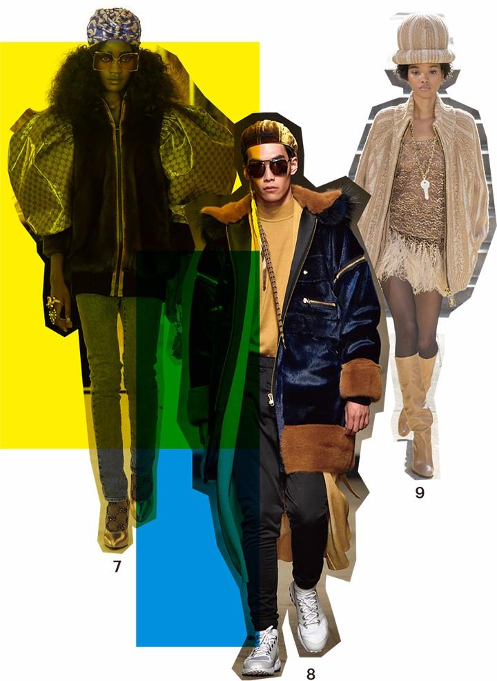 7. Gucci 2018 度假系列  8. Astrid Andersen 2017秋冬系列  9. Marc Jacobs 2017秋冬系列