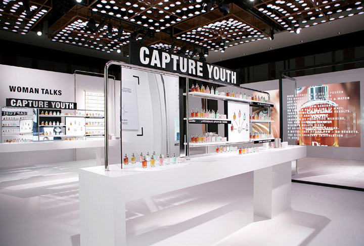 Dior 迪奥未来新肌系列产品体验区域