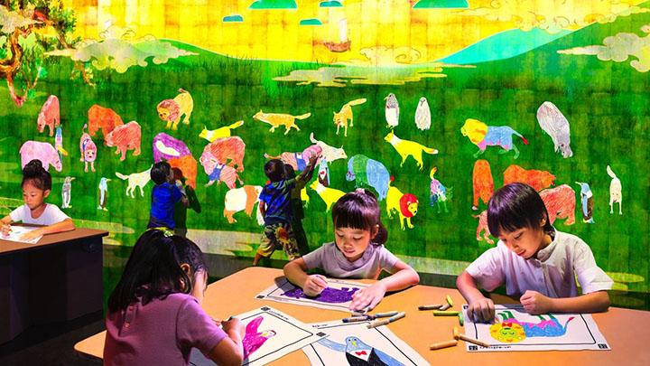 北京:央·美术馆联袂 teamLab 打造新型奇幻艺术之旅