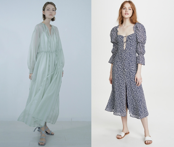 ZHANG YUHAO SS20、Reformation from SHOPBOP 连衣裙