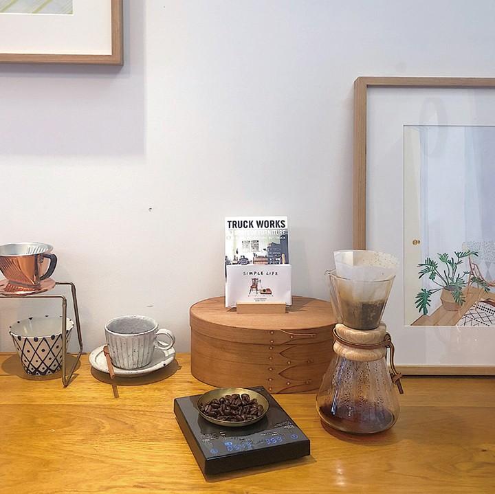 画出一杯咖啡的香气