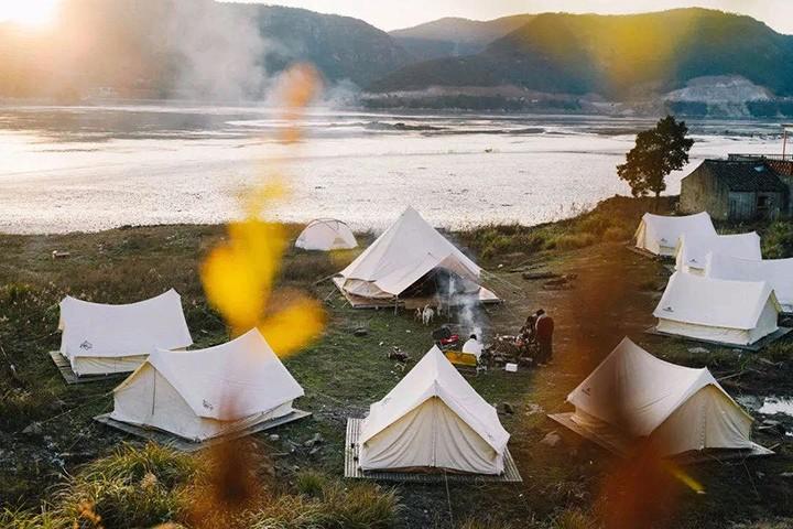 走!一起去户外露营之家看风景吧