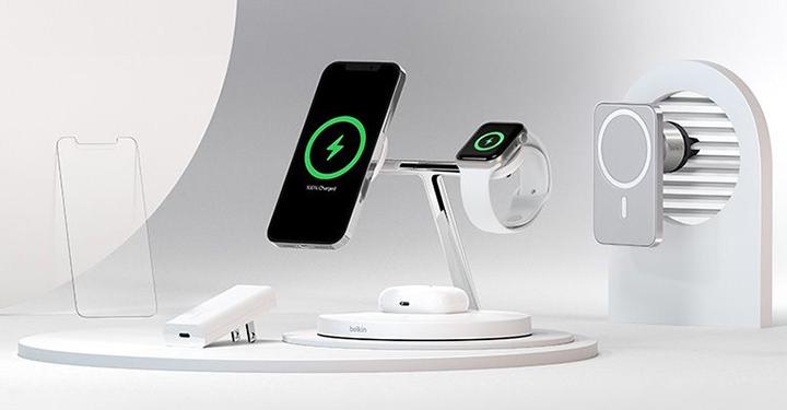 贝尔金推出全新强大配件,专为iPhone 12 系列手机设计