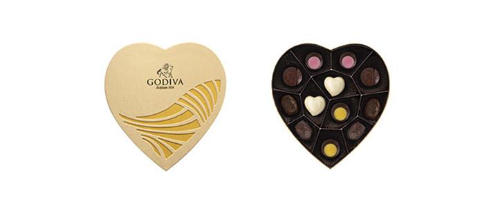 2021 GODIVA歌帝梵情人节限量巧克力系列