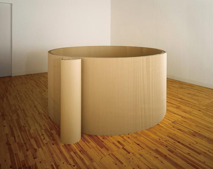 《大井》镜面,瓦楞纸,120x180cm,19652021年