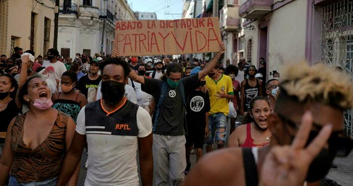 安替:一次注定要发生的古巴抗议